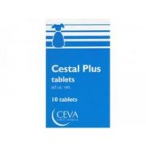 Cestal plus dog cutie 10 comprimate