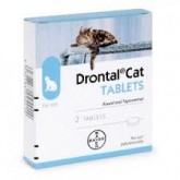 Drontal cat cutie 2 comprimate